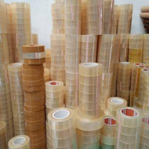 Băng dính lõi nhựa 400g/ Cuộn - Lốc 6 cuộn