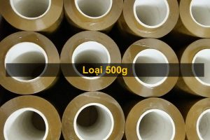 Băng dính lõi nhựa 0,5kg/ Cuộn - Lốc 6 cuộn