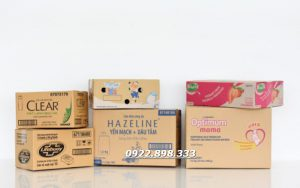Nhận sản xuất theo yêu cầu Thùng hộp carton 3 lớp 5 lớp sóng A B C E ... Giao hàng nhanh - Đảm bảo chất lượng Giá cạnh tranh Liên hệ hotline : 0922.898.333 - 0949.280.589