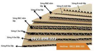Tấm bìa carton 2 - 3 - 5 - 7 lớp Sóng A , B, C, AB ... Giá cạnh tranh - Giao hàng nhanh - Chất lượng tốt Đặt hàng theo kích thước yêu cầu Hotline : 0922.898.333 - 0949.280.589